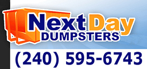 Rent a dumpster in Maryland